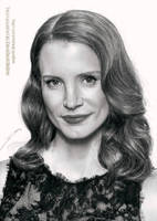 Jessica Chastain by AmBr0