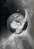 Flight around Earth by AmBr0