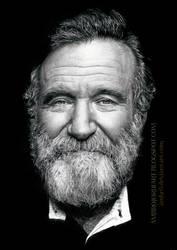 Robin Williams by AmBr0