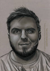 CyberPunk Portrait by AmBr0