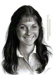 Girl Portrait by AmBr0
