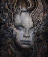 Her Demons Cast in Stone by Markelli