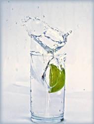 Lime splash by roxiannie