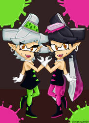 Callie and Marie by Christina2929