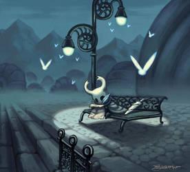 HOLLOW KNIGHT - FANART by JuanitoMedina