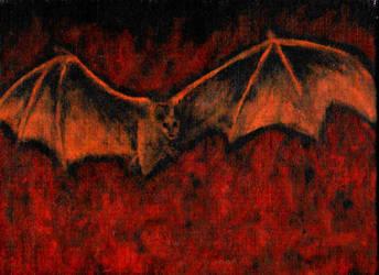 a bat by lilibat