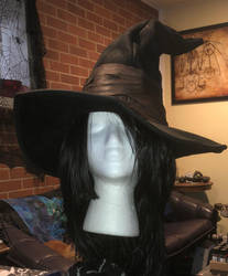 Karla the Witch from Dark Souls 3 hat and wig by lilibat
