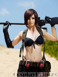 Quiet Cosplay by AllyAuer
