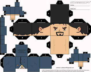 Tony Stark by Lucasmoredec