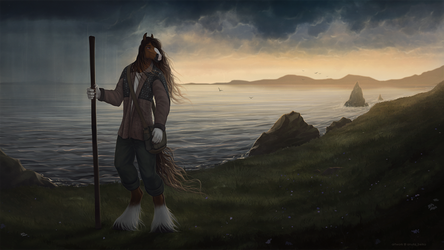 The long journey by AnutaBelka