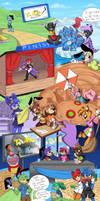 Adventures of Toontown Rewritten by Junehs