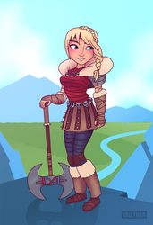 Astrid Hofferson - Commission by VaultMan