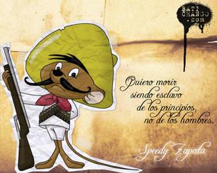 Speedy Zapata by batichango