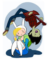 Marshall Lee singin for Fionna by empty-10