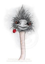 Ostrich by EroticArtist