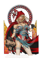 Red Riding Hood by EroticArtist