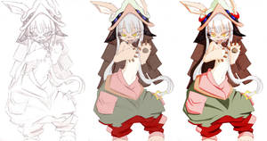 Nanachi Color Version by Akaonic
