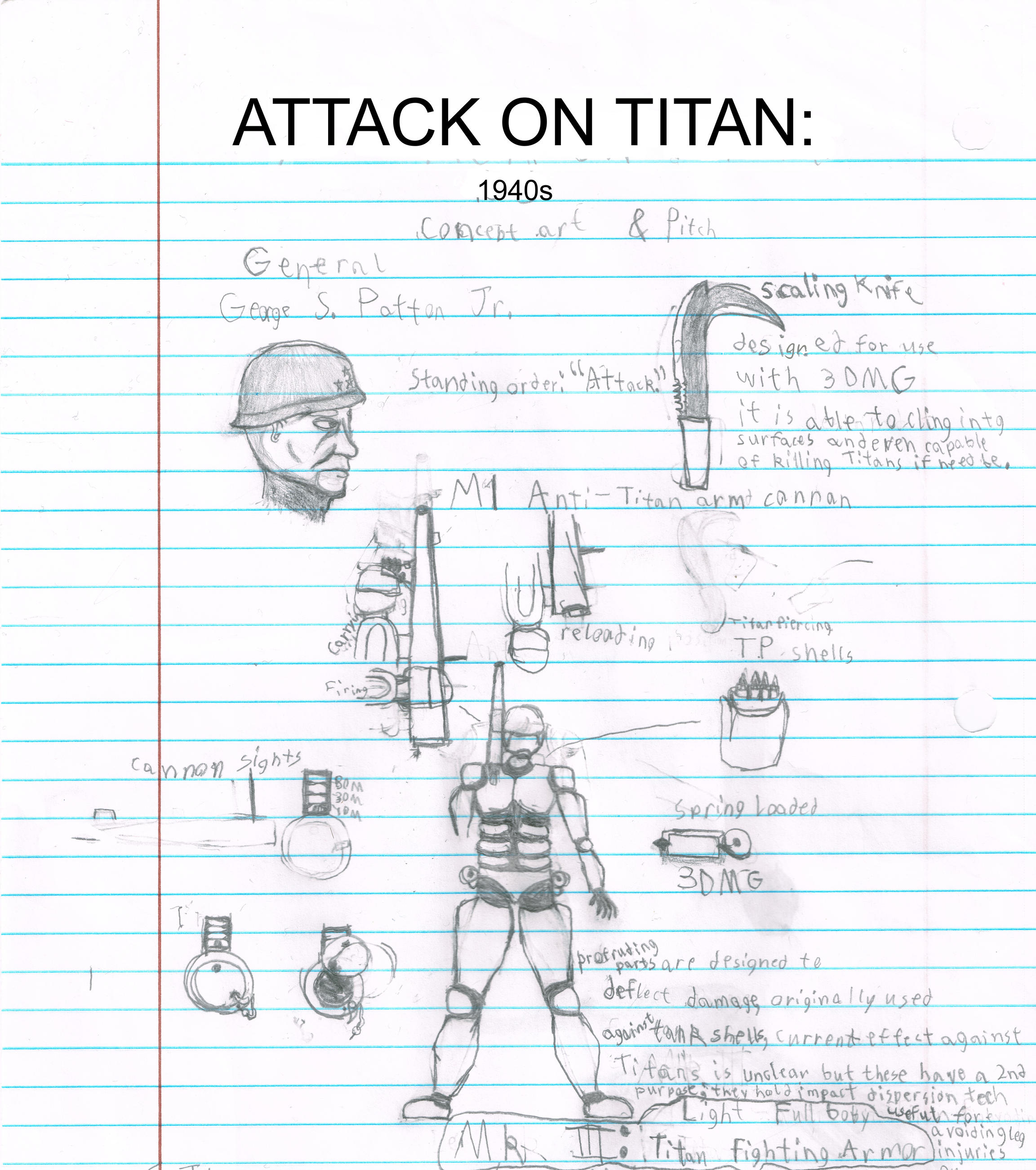 Attack On Titan 1940s Pitch And First Concept By Alucardtnuoc On