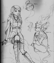 Diamond Aiyako - Rough Sketch by fuuying