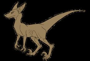 Caniraptor base - PTU by StanHoneyThief