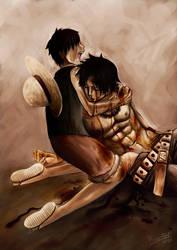 One Piece : He is gone by pisaj-elf