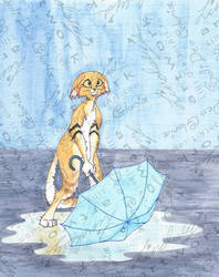 Sand Cat by LiHy