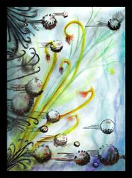 A Dandelion Screams by GummyTumor