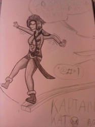 kaptain kat by RescueScribbles