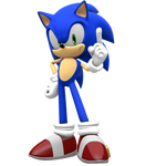 Sonic 4 Episode 1 pose remade by Pho3nixSFM