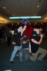 Jesus Ninjas by dahm