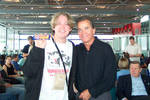 Me, Dick Clark, and a Yorkie by dahm