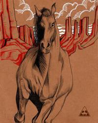 American Horse by horizonred