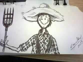 Happy Scarecrow by leandrw