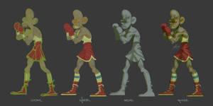 boxing2 Making-of by xGaBBeRx
