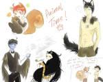 bocetos random porque tengo tiempo... by ThoseDreamlessNights