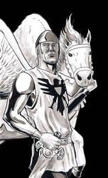 Shining Knight by craigcermak