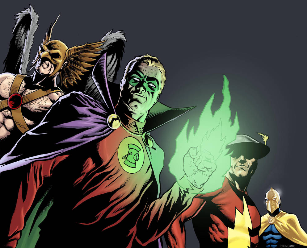 Justice Society - Color by craigcermak