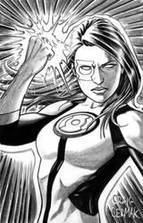 Green Lantern Jessica Cruz by craigcermak