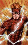 Wally West, The Flash - colors by craigcermak