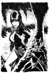 Elvira, Mistress of the Dark cover #8 by craigcermak