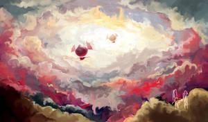 Zeppelins by elenyan