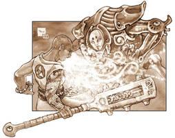 Gods + Elementals: Mana Theft by PaleLonginus