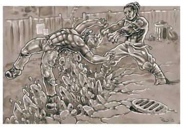 SotED: Earth Dragon Fang Koshinage by PaleLonginus