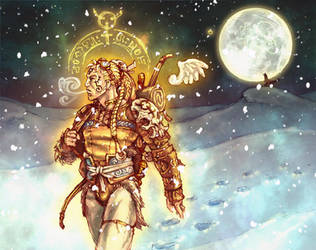 the Moonpath Strider by PaleLonginus