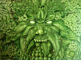 Greenman by dragonflyblue