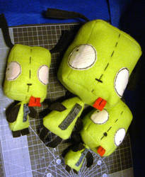 Fleece Gir Plushes - For Sale by zomgah
