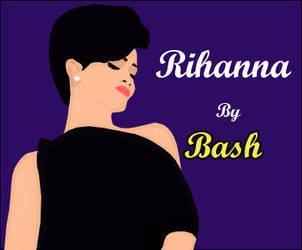 Rihanna 5 by BASH-DASH