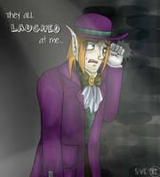 OC - Comical leech by Purplestuffles