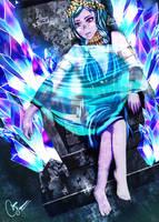 Magic Knight Contest-ice demigod by mizueyes777