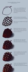 Drawing Blackberry Tutorial by AnasteziA